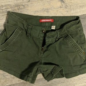 Unionbay  green shorts